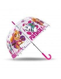 Parapluie manuel transparent pat patrouille Skye 48cm