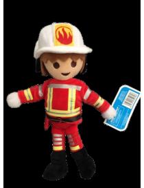 peluche playmobil pompier...