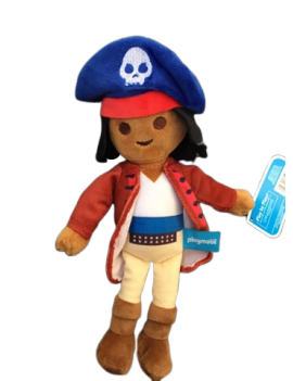 Peluche playmobil pirate de...
