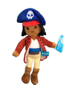 Peluche capitaine pirate...