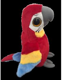 Peluche perroquet rouge...