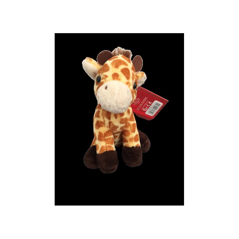 Peluche girafe fait à la main de 12 cm