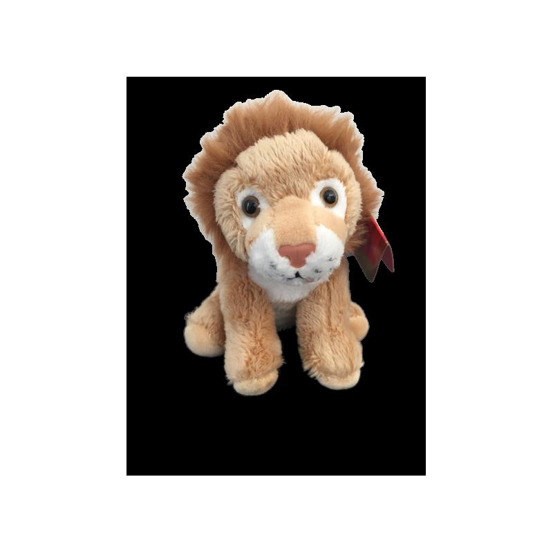 Peluche lion fait à la main de 12 cm