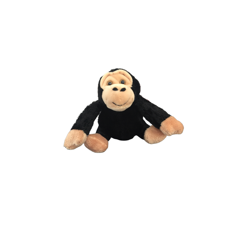 Peluche chimpanzé fait à la main de 12 cm