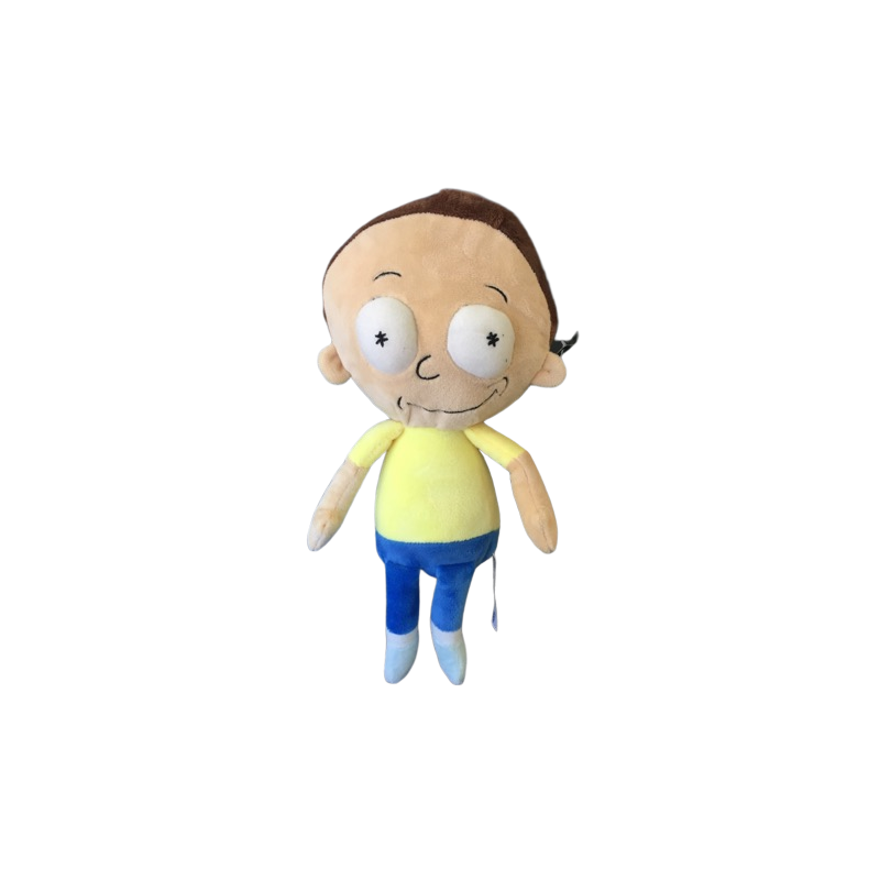 Peluche Morty de 30 cm de rick et morty