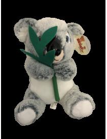 Peluche Koala avec feuille...