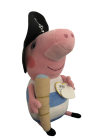 Peluche TY Peppa pig pirate...