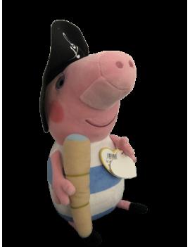 Peluche TY Peppa pig pirate...