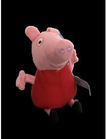 Peluche peppa pig rouge 12 cm