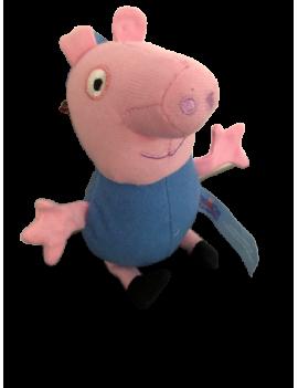 Peluche peppa pig bleu 12 cm