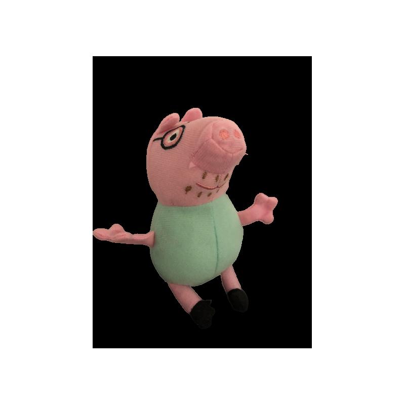 Peluche peppa pig turquoise 12 cm