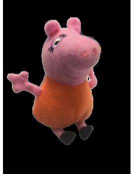 Peluche peppa pig orange 12 cm