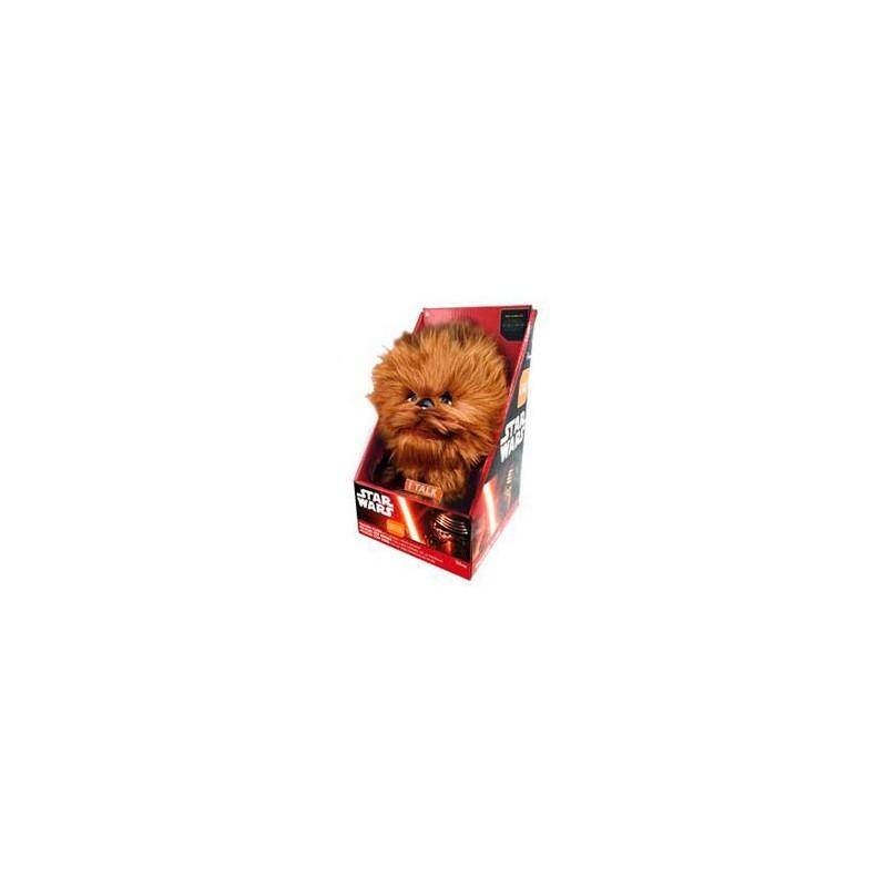 Peluche Star wars Chewbacca en 25 cm sous blister