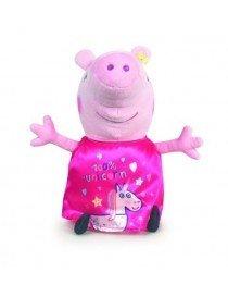 Peluche peppa pig robe rose...