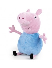 Peluche peppa pig bleu 17 cm