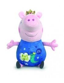 Peluche peppa pig roi bleu...