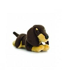 Peluche chien teckel de 35 cm