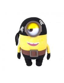 Peluche minion pirate de 28 cm