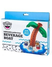Bigmouth Gonflable Island Oasis Beverage Boat