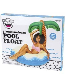 Bigmouth Pool Float Gonflable Giant Island 116x116x114cm