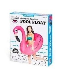 Bigmouth Pool Float Gonflable Giant Pink Flamingo 120cm