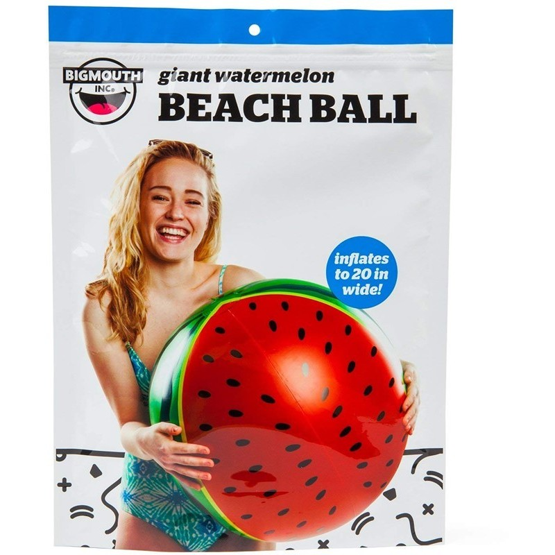 Bigmouth Gonflable Beach ball Watermelon 50cm