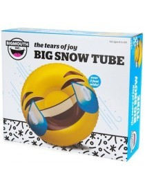 Snow Tube Gonflable Emoji Giant Tears Of Joy 120cm