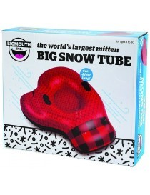 Snow Tube Gonflable Giant Winter Mitten 120cm