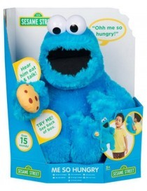 Sesamstraat Me So Hungry Cookie B/O 40cm