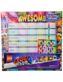Lego 2 Reward Chart Tabellone dei Premi 29x30cm