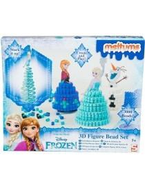 Disney Frozen Meltums Kit Perles pour Figurine 3D 24x29cm