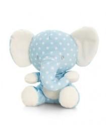 Peluche éléphant bleu Baby...