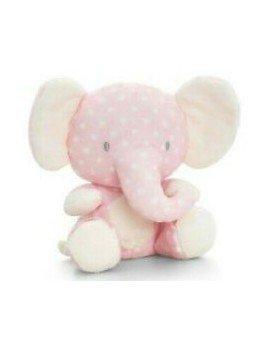 Peluche éléphant rose Baby...