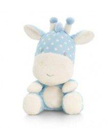 Peluche girafe bleu Baby...