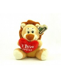 "Peluche lion"" I love you ""..."