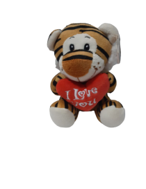 """Peluche tigre"""" I love you """"..."""