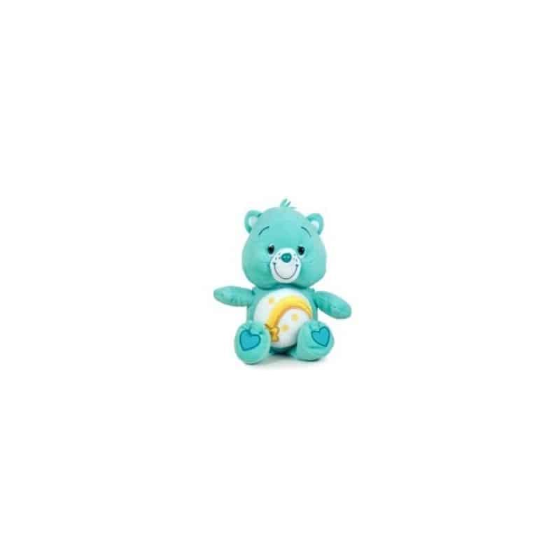 Peluche bisounours vert clair 28 cm