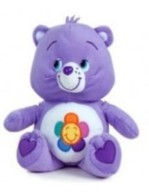 Peluche bisounours violet...