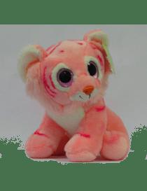 Peluche Tigre rose / fushia...