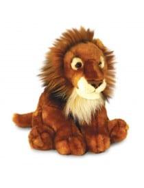 PELUCHE LION ASSIS 40CM
