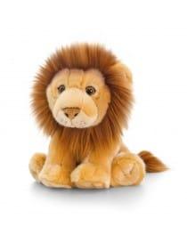 PELUCHE LION ASSIS 18CM
