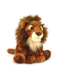 PELUCHE LION ASSIS 30CM
