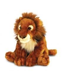PELUCHE LION ASSIS 50CM