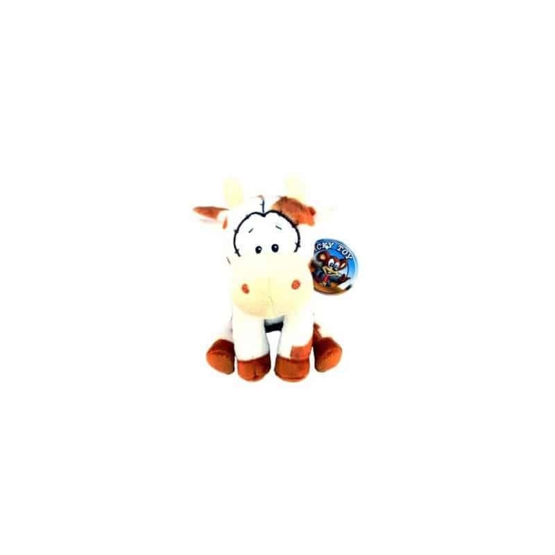 Peluche vache drole 15 cm
