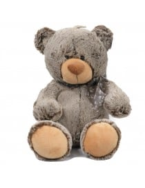 Peluche ours assis marron...
