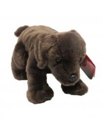 Peluche chien Marron 20 cm