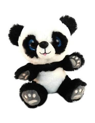 Peluche panda assis yeux...