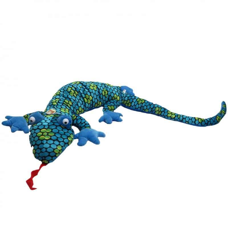 Peluche XXL LÉZARD bleu  - 170 cm
