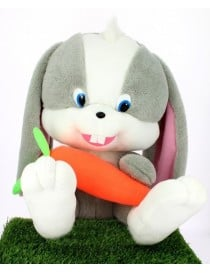 Peluche lapin géant avec...