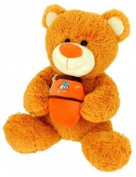 Pleuche ours avec son miel...